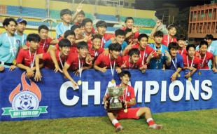 Korea Republic clinch AIFF Youth Cup
