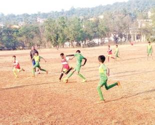 Arpora blank Vagator in U-10 boys match