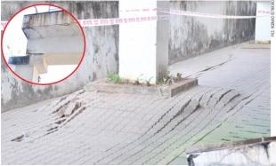 Cracks to Sanskruti Bhavan expose construction quality