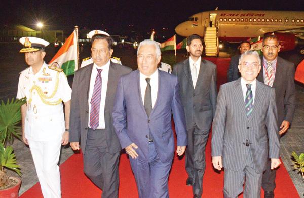 Bem vindo Sua Excelência, Goa vos saúda