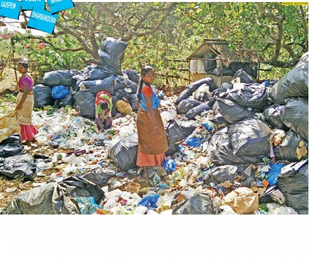 causes of garbage in goa India faces major environmental challenges associated with waste generation and inadequate waste collection, transport, treatment and disposal  orissa, goa, assam .