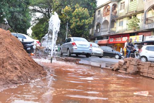Water fountain: