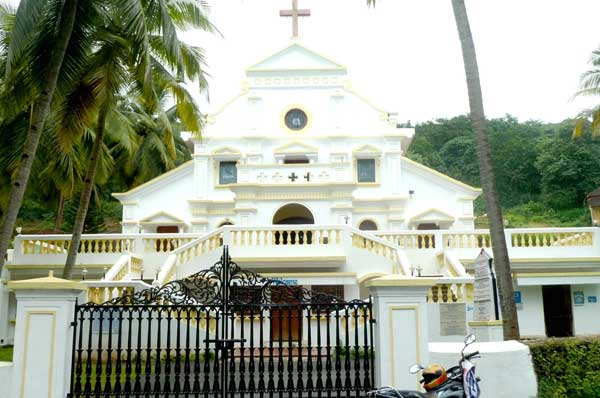 The Sanctuary dedicated to Blessed Joseph Vaz at Sancoale.