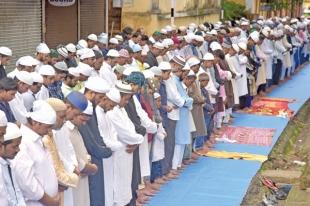 Muslims  in state celebrate Eid