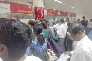 Serpentine queues & chaos at Panjim Head Post Office