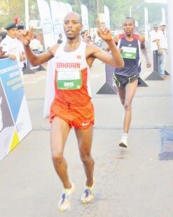 Zelalem, Ankita run towards glory in the Goa River Marathon