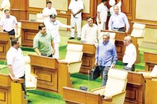 'Ailing' CM presents a revenue surplus Budget