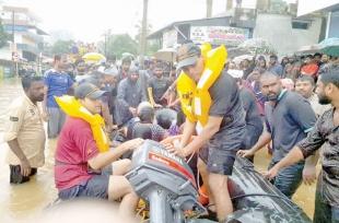 Coast Guard evacuates over 2,500 flood victims in Kerala
