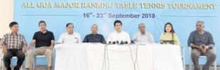 2nd Dr Filipe Pinto Memorial All Goa  Major Ranking TT tourney from Sept 16