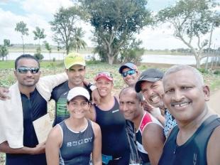 Goa's Nisha and Nicole win triathlon titles in Thonnur