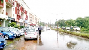 Cars parked on streets, roadside garbage plague Margao Eastern bypass
