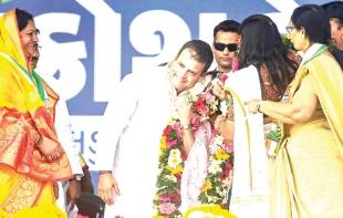 Even ex-French prez says 'chowkidar chor hai': Rahul