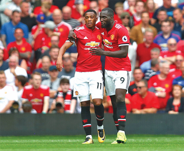 Lukaku joins Ibrahimovic in exclusive Manchester United club after goal against Swansea