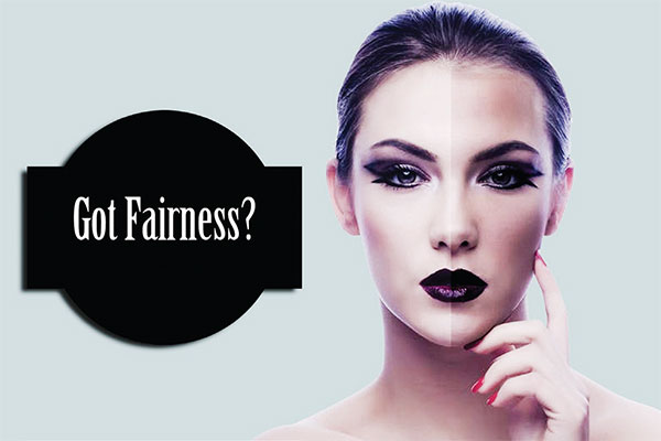 The fair choice: When society truly believes beauty is not skin deep