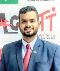 Joash is first Goan to qualify  as TT international umpire