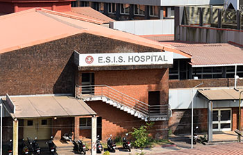 Patient tries to escape from   COVID hospital