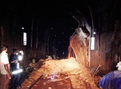 Restoration work of Pernem tunnel completed