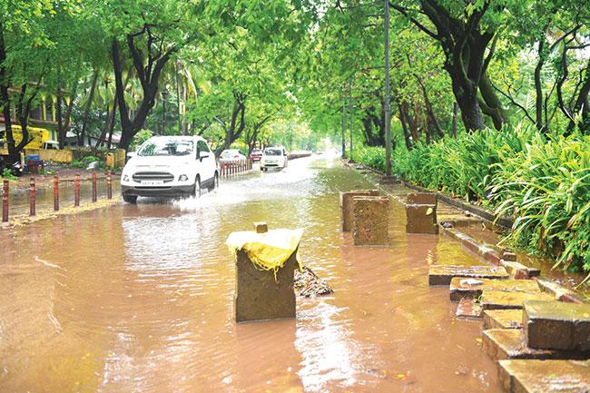Red Alert sounded as rains pound Goa
