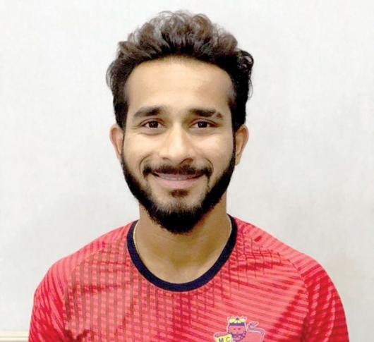 Eknath joins  Goa Ranji team