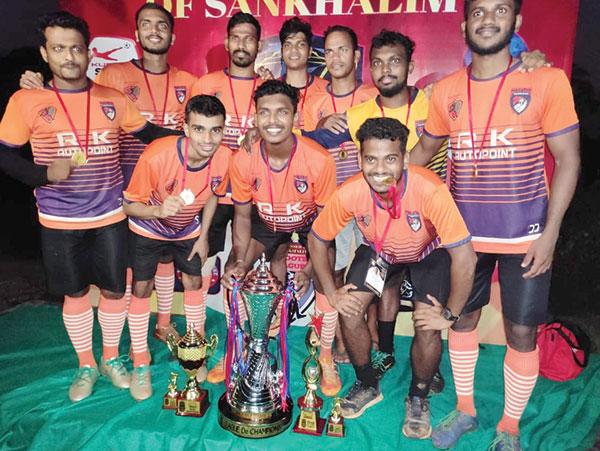Maratha Warriors down SRS to  clinch League De Champions 2020
