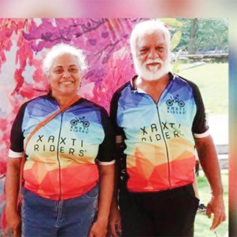 Senior citizens are also senior cyclists, peddling their way to health
