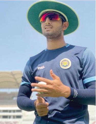 Kohli, Maxwell, De Villiers. That's the company this Goan cricketer will keep