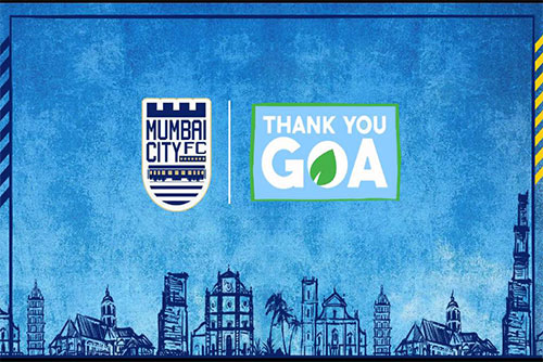 Mumbai City FC say 'Thank You, Goa'; will plant five trees for every goal scored