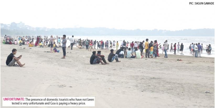 No RTPCR tests for Goa visitors leave Goans baffled & worried