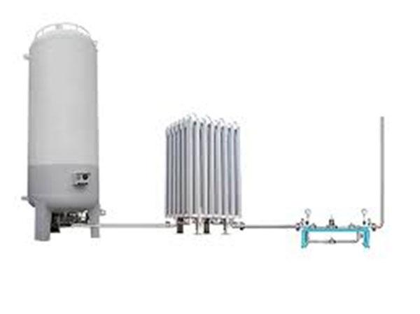 20k-litre oxygen tank installed   at GMC