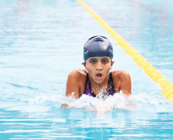 Sanjana excels in Dubai