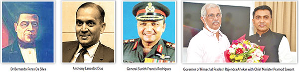 BPS - the first Goan Governor