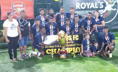 Kelisha Warriors emerge victorious in 5-a-side futsal