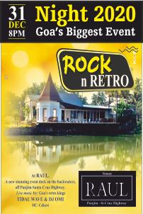 Rock n Retro - 31st Night 2020 - Goa's Biggest Event