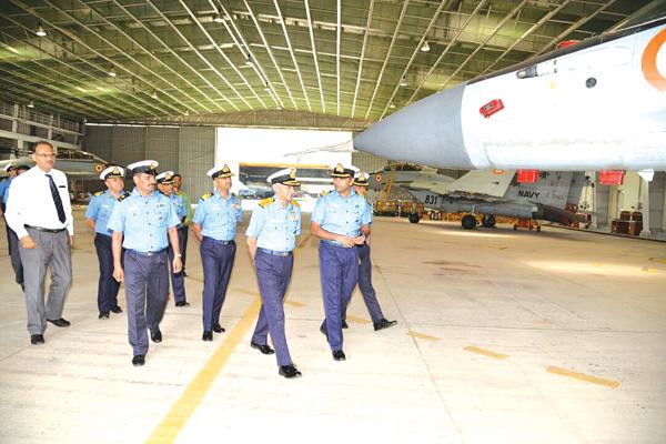 Boosting naval power